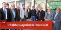 CHP Milletvekili Adayı Dalkara'dan Göksun'a Ziyaret