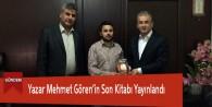 Yazar Mehmet Görenin Kitabı Yayınlandı