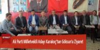 Ak Parti Milletvekili Adayı Karakoç'tan Göksun'a Ziyaret