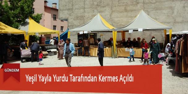 Yeşil Yayla Yurdu Tarafından Kermes Açıldı