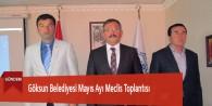 Göksun Belediyesi Mayıs Ayı Meclis Toplantısı