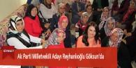 Ak Parti Milletvekili Adayı Reyhanlıoğlu Göksun'da