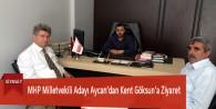 MHP Milletvekili Adayı Aycan'dan Kent Göksun'a Ziyaret