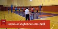 Kurumlar Arası Voleybol Turnuvası Finali Yapıldı