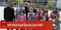 Hafif Zihinsel Engelli Öğrenciler Ziyaret Edildi