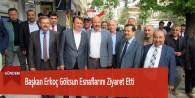 Başkan Erkoç Göksun Esnaflarını Ziyaret Etti