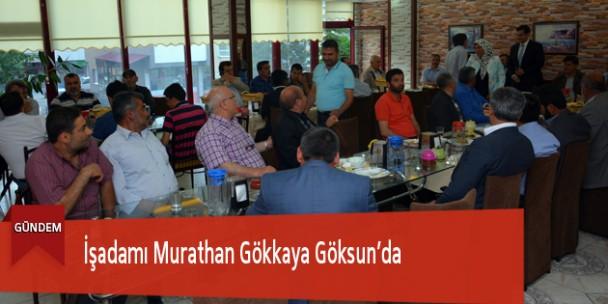 İşadamı Murathan Gökkaya Göksun'da