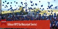 Göksun MYO'da Mezuniyet Sevinci