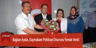 Başkan Aydın, Kaymakam Pehlivan Onuruna Yemek Verdi