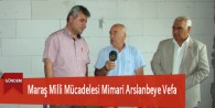 Maraş Milli Mücadelesi Mimari Arslanbeye Vefa