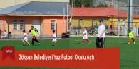 Göksun Belediyesi Yaz Spor Okulu Açtı
