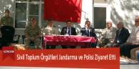 Sivil Toplum Örgütleri Jandarma ve Polisi Ziyaret Etti