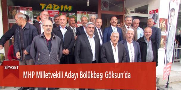 MHP Milletvekili Adayı Bölükbaşı Göksun'da