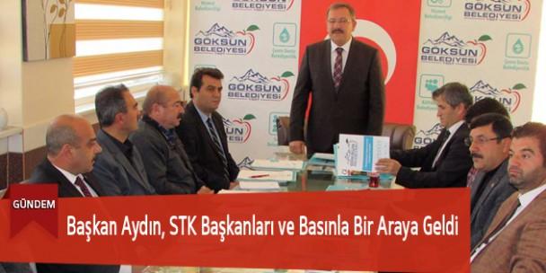 Başkan Aydın, STK Başkanları ve Basınla Bir Araya Geldi