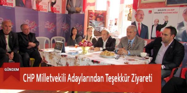 CHP Milletvekili Adaylarından Teşekkür Ziyareti
