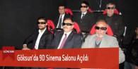 Göksun'da 9D Sinema Salonu Açıldı