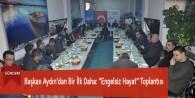 """Başkan Aydın'dan Bir İlk Daha: """"Engelsiz Hayat"""" Toplantısı"""