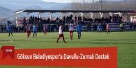 Göksun Belediyespor'a Davullu-Zurnalı Destek
