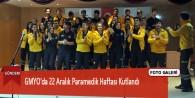 GMYO'da 22 Aralık Paramedik Haftası Kutlandı