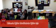 Göksunlu Eğitim Gönüllüsünün Eğitim Aşkı
