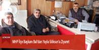 MHP İlçe Başkanı Bal'dan Yayla Göksun'a Ziyaret