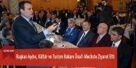 Başkan Aydın, Kültür ve Turizm Bakanı Ünal'ı Mecliste Ziyaret Etti