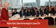 Başkan Aydın, Bakan Ramazanoğlu'nu Ziyaret Etti
