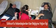 Göksun'lu Vatandaşlardan Kan Bağışına Yoğun İlgi