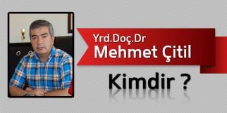 Yrd.Doç.Dr Mehmet Çitil Kimdir?