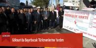 Göksun'dan Bayırbucak Türkmenlerine Yardım