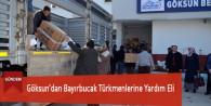 Göksun'dan Bayırbucak Türkmenlerine Yardım Eli