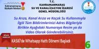 KASKİ'de Whatsapp Hattı Dönemi Başladı