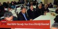 Alevi Kültür Derneği, Hızır Orucu Etkinliği Düzenledi