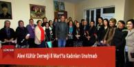 Alevi Kültür Derneği 8 Mart'ta Kadınları Unutmadı