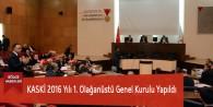 KASKİ 2016 Yılı 1. Olağanüstü Genel Kurulu Yapıldı
