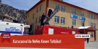 Kurucaova'da Nefes Kesen Tatbikat