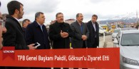 TPB Genel Başkanı Pakdil, Göksun'u Ziyaret Etti