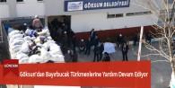 Göksun'dan Bayırbucak Türkmenlerine Yardım Devam Ediyor