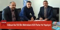 Göksun'da 150 Bin Metrekare Kilit Parke Yol Yapılıyor