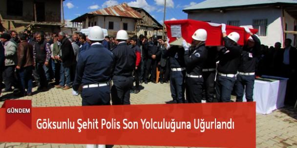 Göksunlu Şehit Polis Son Yolculuğuna Uğurlandı
