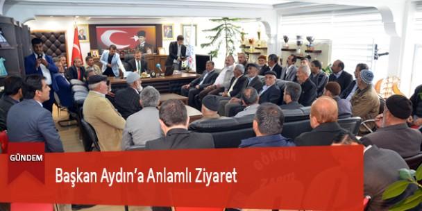 Başkan Aydın'a Anlamlı Ziyaret