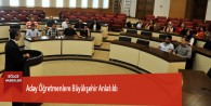 Aday Öğretmenlere Büyükşehir Anlatıldı