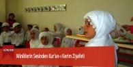 Miniklerin Sesinden Kur'an-ı Kerim Ziyafeti