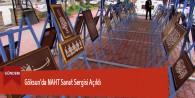 Göksun'da NAHT Sanat Sergisi Açıldı