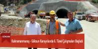 Kahramanmaraş – Göksun Karayolunda 6. Tünel Çalışmaları Başladı