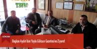 Başkan Aydın'dan Yayla Göksun Gazetesine Ziyaret