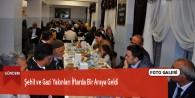 Şehit ve Gazi Yakınları İftarda Bir Araya Geldi
