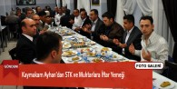 Kaymakam Ayhan'dan STK ve Muhtarlara İftar Yemeği