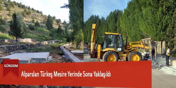 Alparslan Türkeş Mesire Yerinde Sona Yaklaşıldı