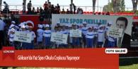 Göksun'da Yaz Spor Okulu Coşkusu Yaşanıyor